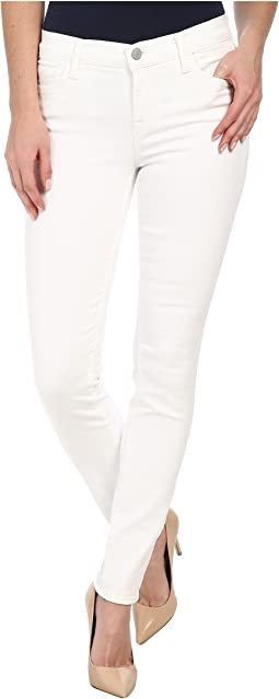 Mid Rise Skinny in Blanc