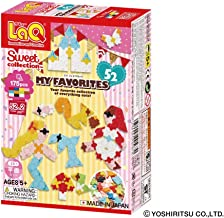 LaQ Sweet Collection MY FAVOURITES - 52 Models, 175 Pieces - Creative Construction Toy