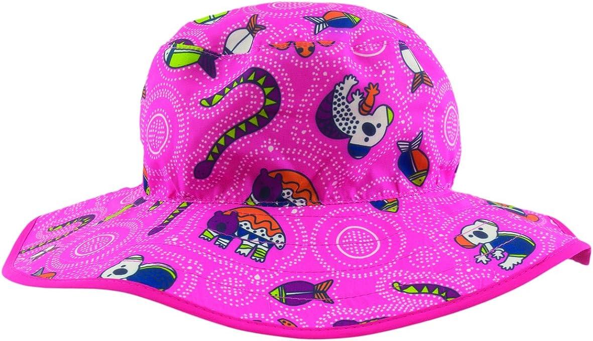 Baby Banz Baby Girls' Banz UPF 50+ Reversible Hat
