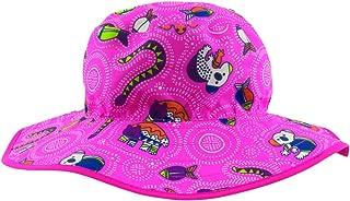 Baby Banz Baby Girls' BANZ UPF 50+ Reversible Hat - Pink