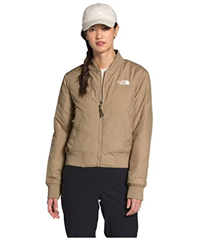The North Face Du Nord Reversible Jacket (Hawthorne Khaki) Women