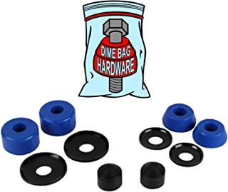 Dime Bag Hardware Skateboard Truck Rebuild Kit Bushings Washers Pivot Cups for 2 Trucks