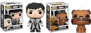 Funko POP Marvel Inhumans Maximus Lockjaw Action Figure Set of 2