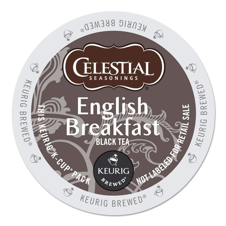 half Celestial Seasonings 14731CT English Breakfast Charlotte Mall K-Cups Black Tea