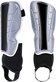 Soccer Shin Guards Youth Shin Guards Youth Sizes Best Kids Soccer Equipment with Ankle Sleeves Adjustable Straps for Boys Girls