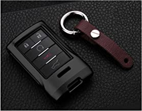 $20 » Royalfox 4 5 6 Buttons luxury aluminum metal Key Fob case cover for Cadillac SRX DTS STS XTS CTS Escalade ,Chevrolet C7 Co...