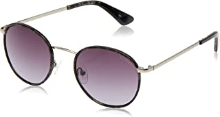 GUESS womens Metal Round Round Sunglasses