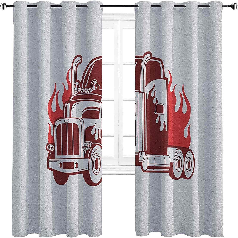 Truck Columbus Mall Room Darkened Insulation Grommet Wheeler Silho New Shipping Free Shipping Curtain 18