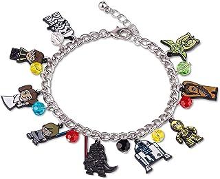 Star Wars Cute 15mm Chibi Characters Pendant Enamel Charms Bracelet Jewelry