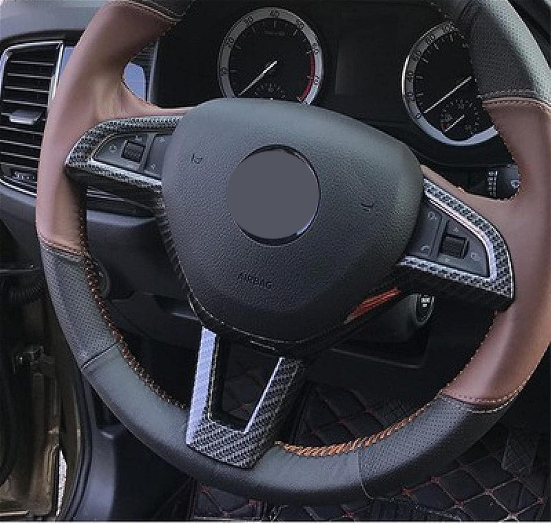 NkeGS car Round Steering Wheel Sequin for Regular store New Super Skoda Kodiaq Milwaukee Mall