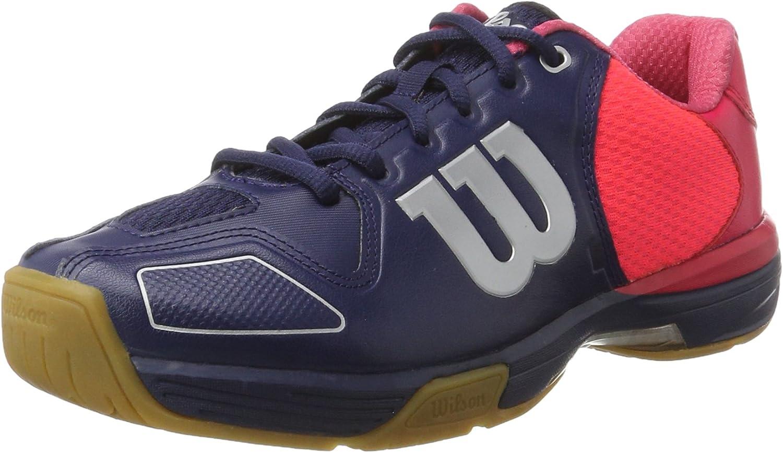 WILSON Unisex-Kinder Grünex Navy Navy Navy Wil Neon rot W SI Tennisschuhe B01CIHN3P6  Qualifizierte Herstellung 925a73