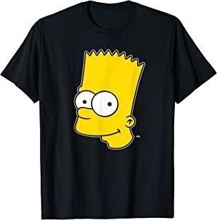 The Simpsons Bart Simpson Face T-Shirt