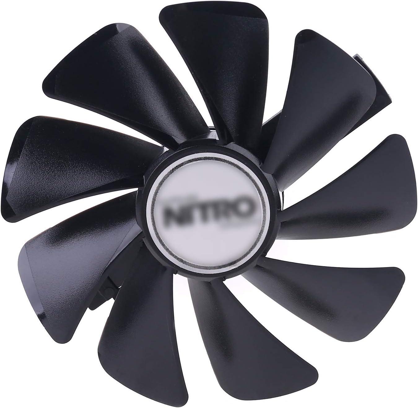 WT-YOGUET 95 mm CF1015H 12D FDC10U12S9-C ventilador de refrigeración de repuesto para Sapphire Nitro RX580 RX480
