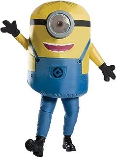 Rubie's Men's Minion Stuart Inflatable Jumpsuit Movie Theme Party Halloween Costume