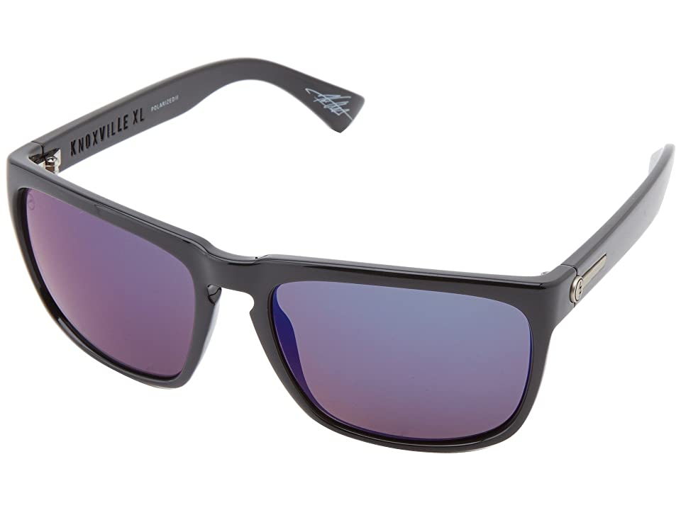 Electric Eyewear Knoxville XL Polarized (Gloss Black/M2 Blue Polar) Sport Sunglasses