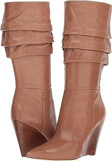 Nine West Womens Darren Suede Mid-Calf Boot