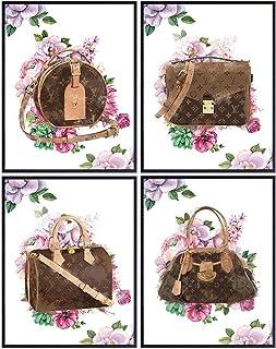 Poster Set of Louis Vuitton - Couture LV Bag - High Fashion - Designer Handbags - Designer Purses - Fashion Design Wall De...