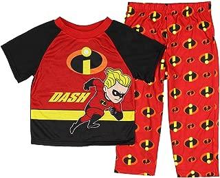 Disney Boys' The Incredibles 2-Piece Pajama Set