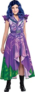 Party City Descendants 3 Dragon Mal Costume for Children, Features Purple and Green Dragon Dress with Wings