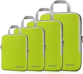 Gonex Extensible Packing Cubes 4 sets (Green)