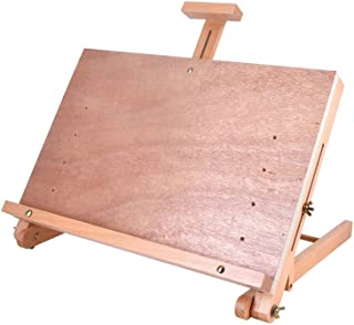 Vencer Large Adjustable Wood Artist Drawing & Sketching Easel Board