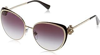 Bulgari 0BV6092B 2788G 57 Gafas de sol Negro (Pale GoldBlackGradient) Unisex-Adulto