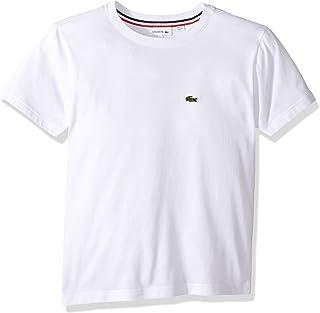 Lacoste Boy Short Sleeve Solid Crew Tee Shirt