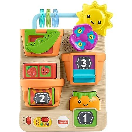 Fisher-Price- Orticello Prime Scoperte Ridi e Impara, Gioco attività Educativo Giocattolo per Bambini 6+Mesi, GTL50