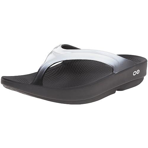 9b69b862a49 OOFOS Women s OOlala Thong Flip Flop