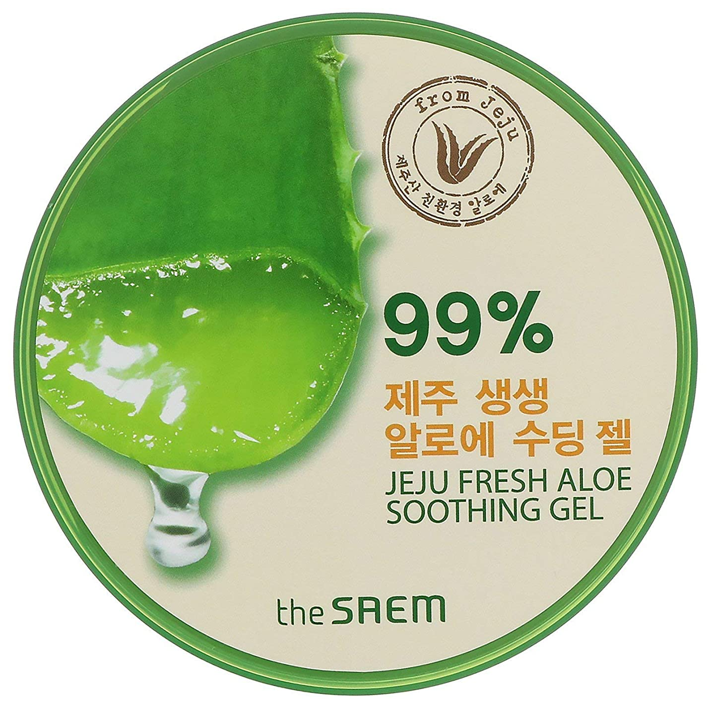 即日発送 【国内発送】ザセム アロエスーディングジェル99% 頭からつま先までしっとり The SAEM Jeju Fresh ALOE Soothing Gel 99%