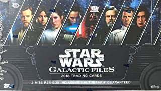Best 2018 topps star wars galactic files hobby box Reviews