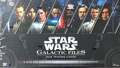 2018 Topps Star Wars 'Galactic Files' HOBBY box