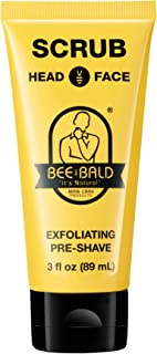 Bee Bald Scrub for Head and Face, 3 Fluid Ounce