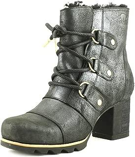 Women's Addington Lace Up Holiday Booties, Black,