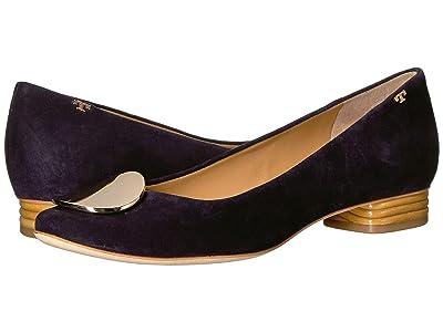 Tory Burch 20 mm Patos Ballet Flat (Midnight) Women