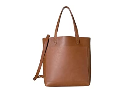 Madewell The Medium Transport Tote (English Saddle) Tote Handbags