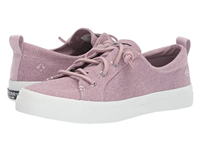 Sperry Crest Vibe Sparkle Chambray (Lilac) Women
