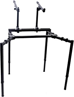 Double Piano Keyboard & Laptop Stand by GRIFFIN | 2
