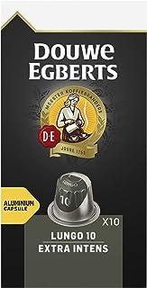 Douwe Egberts Koffiecups Lungo Extra Intens (100 Capsules, Geschikt voor Nespresso* Koffiemachines, Intensiteit 10/12, Dar...