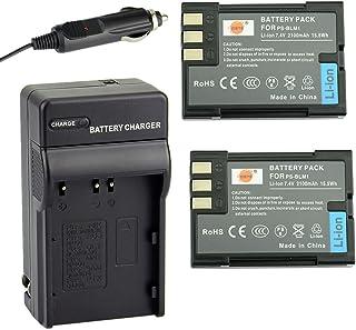 DSTE® アクセサリーキット Olympus BLM-1 互換 カメラ バッテリー 2個+充電器キット対応機種 E-300 E-500 E-510 C-7070 C-8080 E-30 E-520 [並行輸入品]
