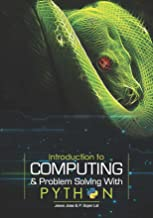 Introduction to Computing & Problem Solving With PYTHON