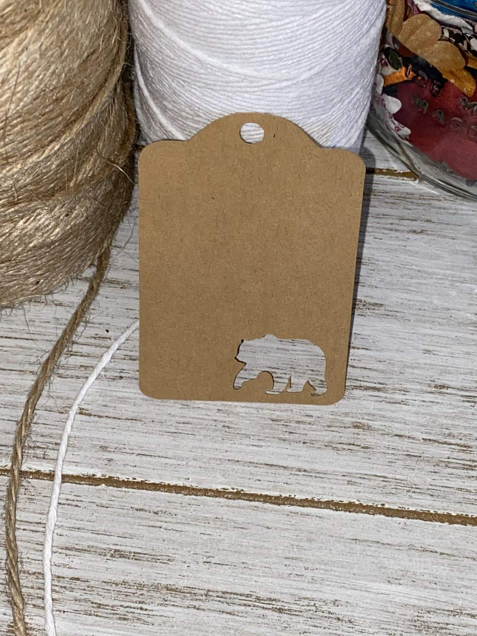 Bear Max 73% OFF Discount mail order Gift Tag - Favor Tags Customize Wed Color Pick