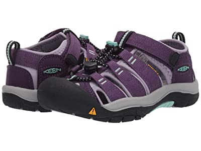 Keen Kids Newport H2 (Little Kid/Big Kid) (Purple Pennant/Lavender Gray) Girls Shoes