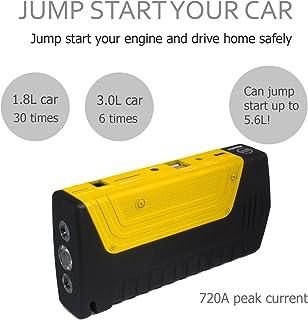 Garciakia Multifunctional 68800mAH 12V 4 USB Portable Mini Car Jump Starter Power Bank For Emergency Start Chargable Battery
