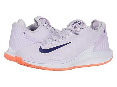 Nike Court Air Zoom Zero HC (Barely Grape/Regency Purple/Bright Mango) Women