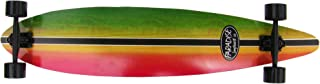 PARADISE Rasta Stain Complete Longboard (10 X 46-Inch)