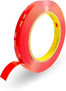 3M Double Sided Tape,HPP Heavy Duty Mounting, Clear, Strong and Permanent, Converted from 3M VHB 4910 0.5in x 15ft HPP-3M-...