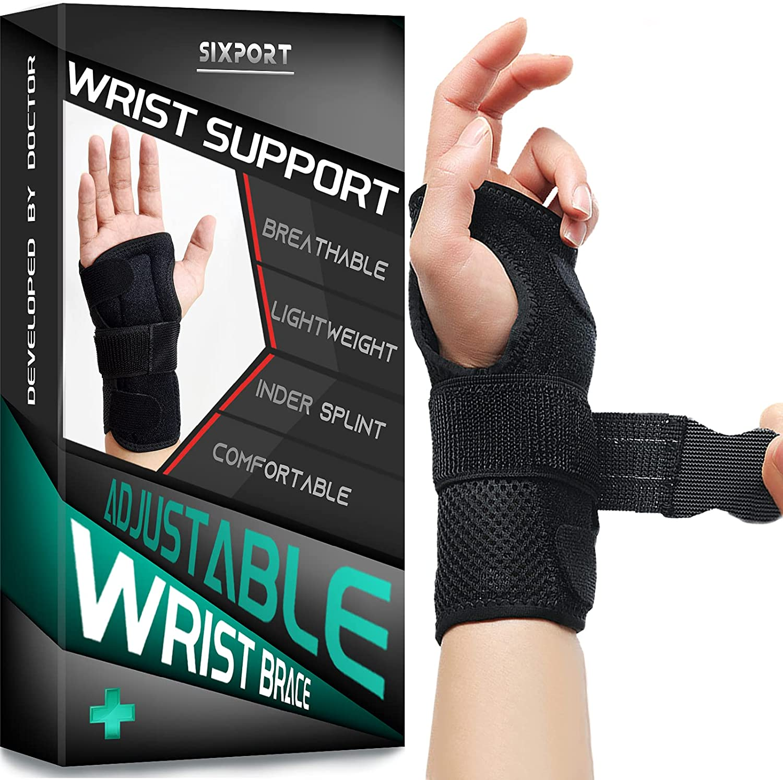 Sixport Wrist Brace Adjustable 1 year warranty Fitted Stabilizer Removabl Bargain