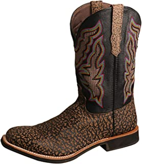 Men's Rancher Western Boot Wide Square Toe - Mrl0004