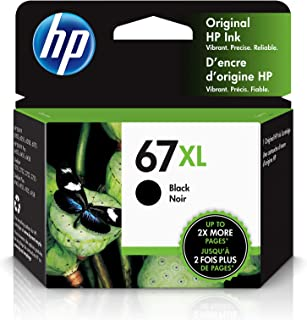 HP 67XL | Ink Cartridge | Works with HP Envy 6000 Series, HP Envy Pro 6400 Series, HP DeskJet 1255, 2700 Series, DeskJet P...
